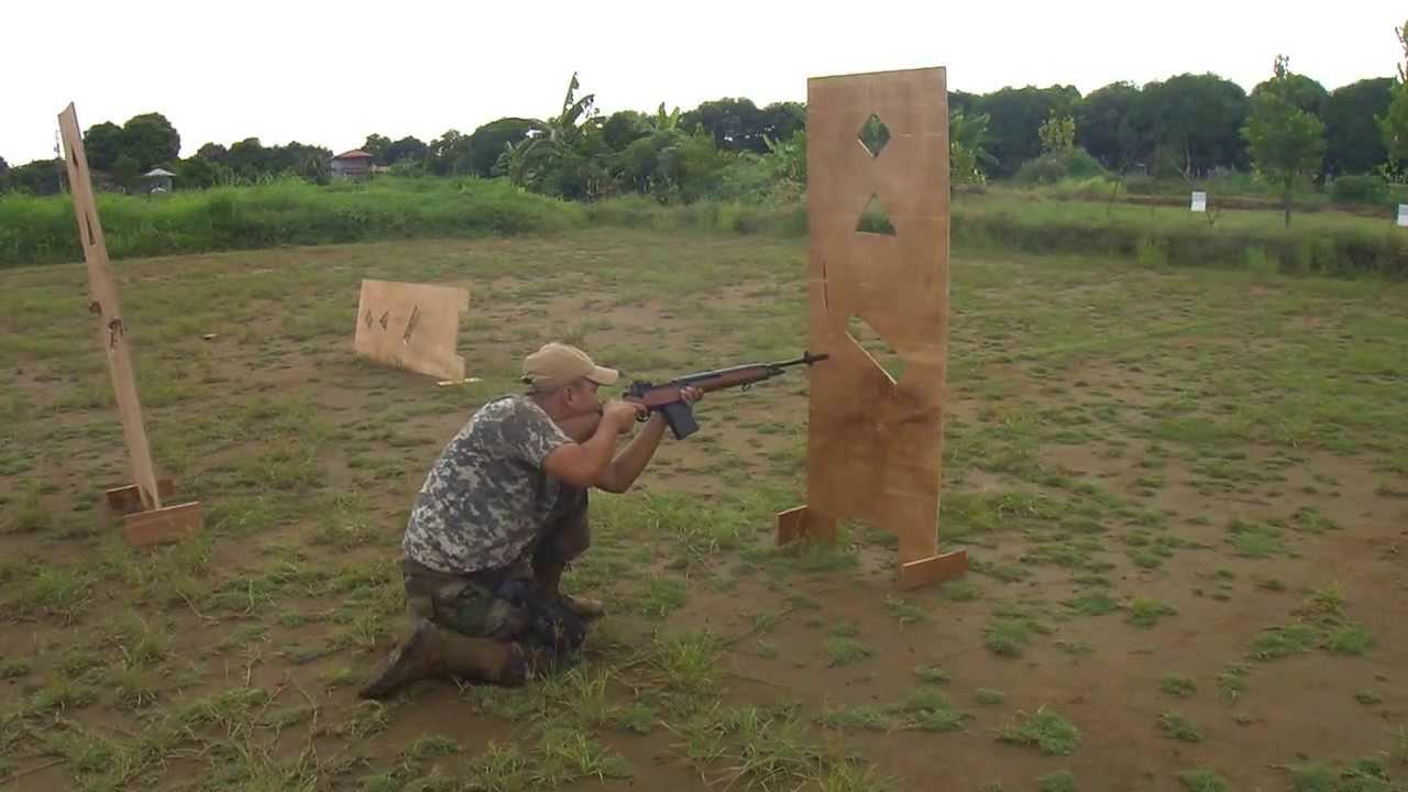 DIY shooting barricade for the range - YouTube