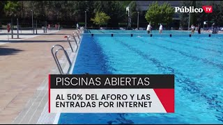 Arranca la temporada de piscinas en un verano atípico