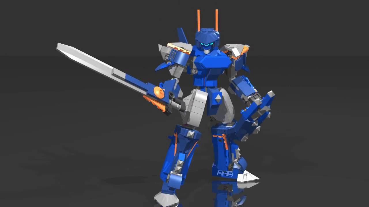 Blue Knight Mecha Youtube