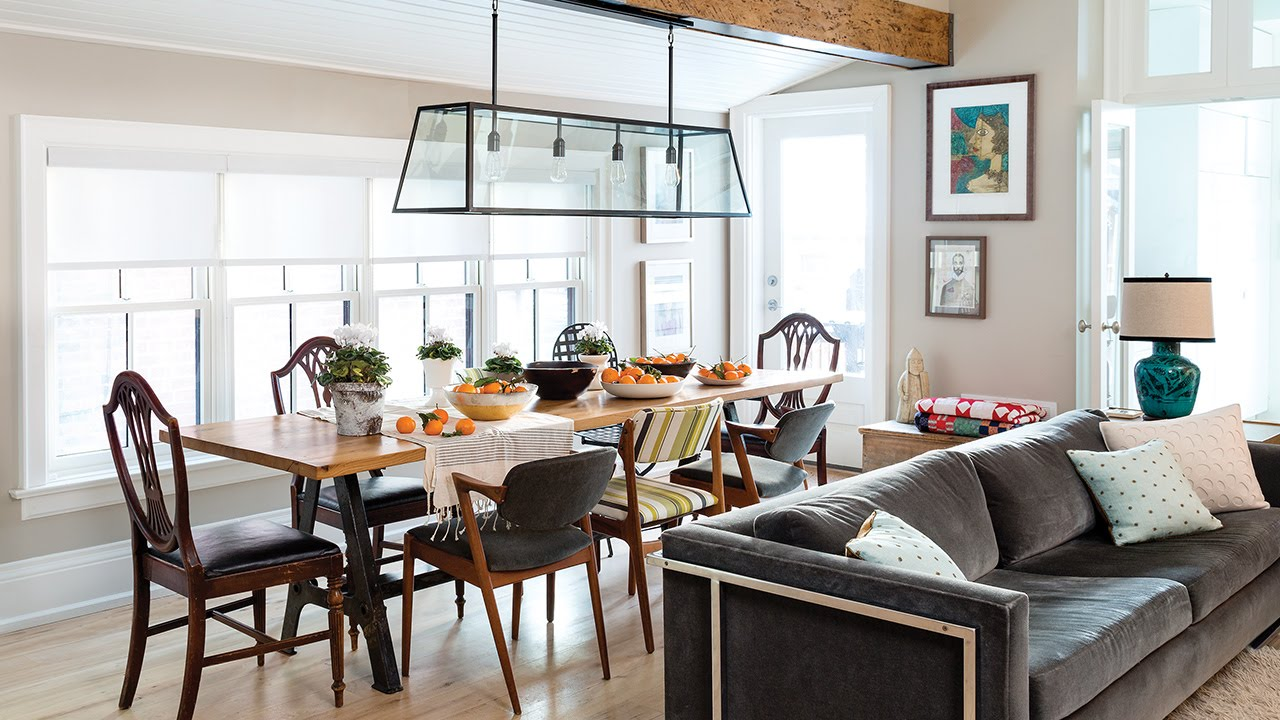Interior Design: Tour A Rustic & Refined Farmhouse In The City - YouTube