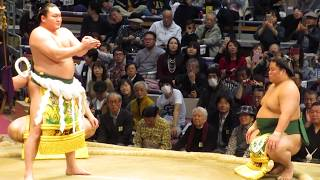 2017年大相撲九州場所 第69代横綱 白鵬 土俵入り.