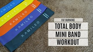 Total Body Mini Band Workout For Fat Loss | MFit