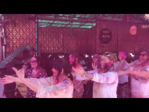 Holi Party at Peacock Rooftop