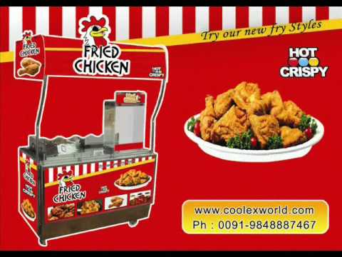 Fried Chicken Machine For Sale Youtube