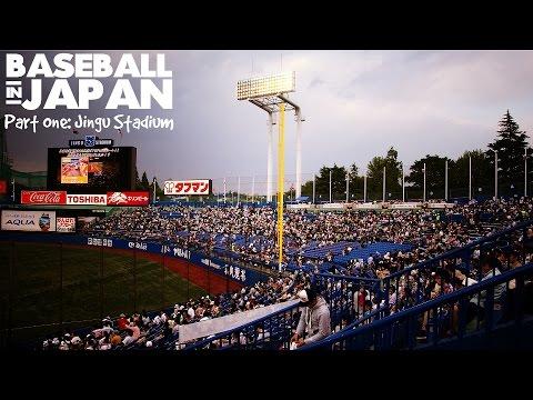 Baseball in Tokyo, Japan: Jingu Stadium