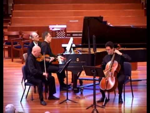 Mendelssohn Piano Trio Op. 66, No. 2, Mvt. 1