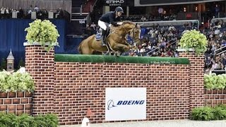 Jos Verlooy & Sunshine win the 2015 WIHS Puissance Wall Competition