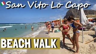 SAN VITO LO CAPO | BEACH WALK (4K) | SICILY