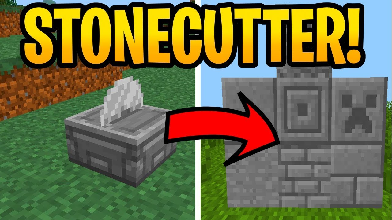 Minecraft 10.104 Stonecutter New Feature Coming! Removed Items Explained! PE,  Xbox, Switch & Java