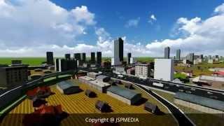 Proposed New Elevated Expressway in Sri Lanka under Megapolis plan - Baseline Road