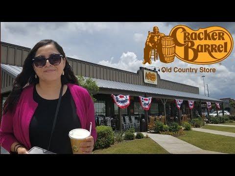 Cracker Barrel Lunch in Harlingen Texas