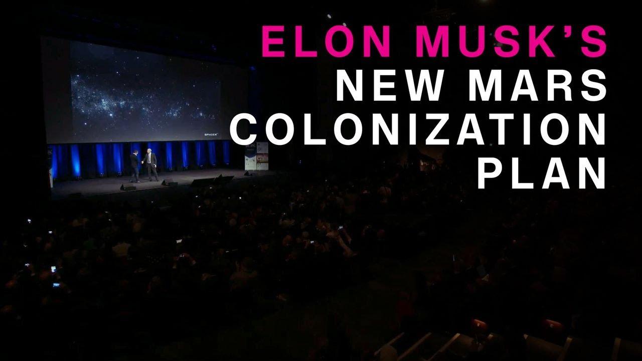 Elon Musk Mars Plan