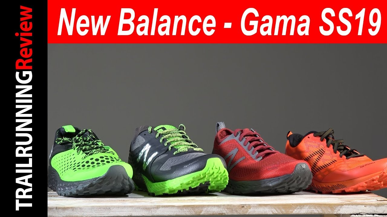 New Balance - Gama zapatillas Trail Running 2019