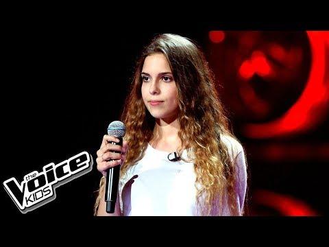 """Agnieszka Nowakowska – """"Faith"""" – Przesłuchania w ciemno – The Voice Kids Poland"""