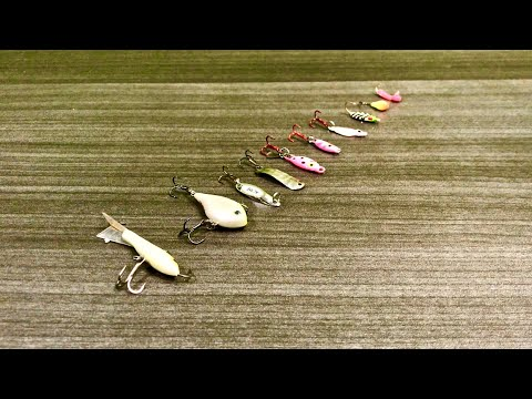 Tackle Tip Tuesday - Top 10 Crappie Fishing Lures (Ice Fishing Addition!)