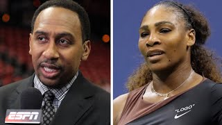 Stephen A  Smith Says Serena Williams is DEAD WRONG For Her Actions At the US Open! Details Inside