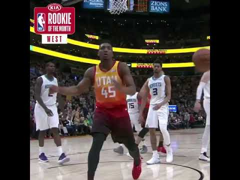 Watch Donovan Mitchell Highlights of February