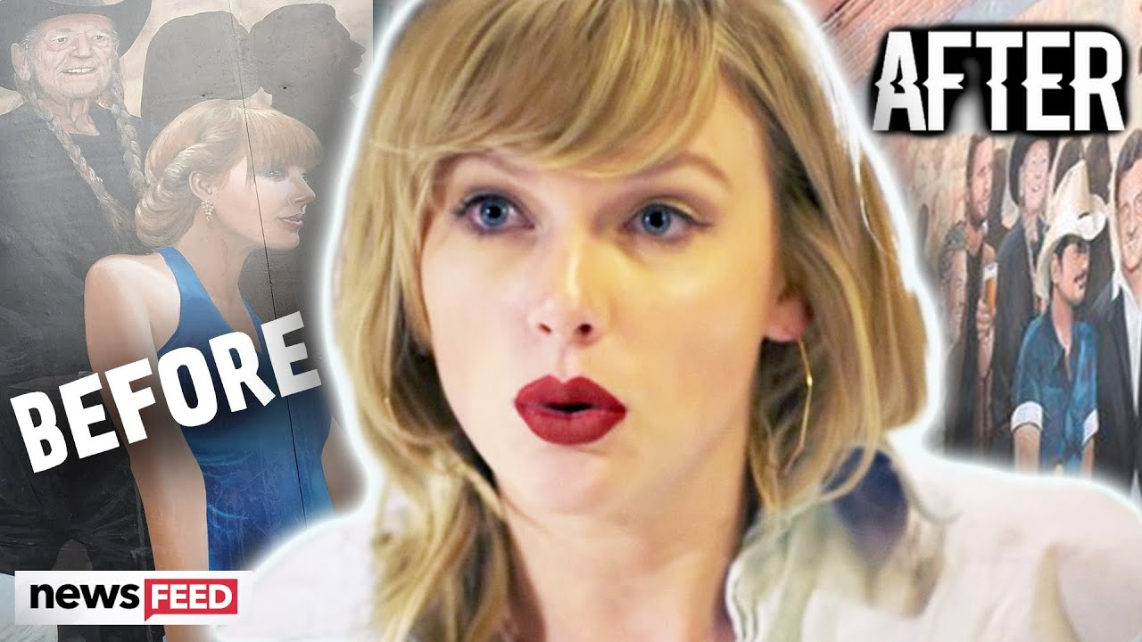 Taylor Swift REPLACED On Nashville Mural & Fans Are Outraged!