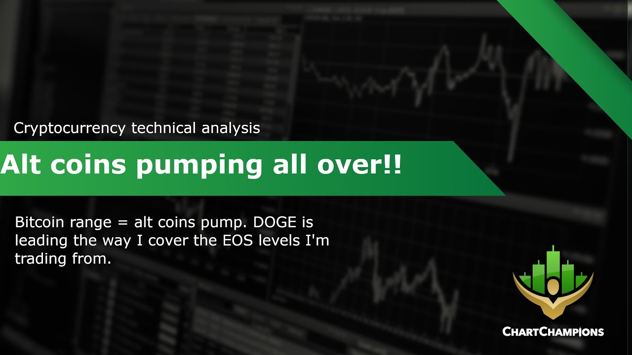 DOGE leading alt coins pump! 📈 EOS Technical Analysis.