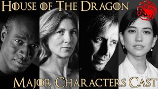 House of The Dragon ၏အဓိကဇာတ်ကောင်များ (of Thrones Prequel၊ ဇာတ်ကား၏ House of the update)