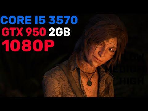 Shadow of Tomb Raider - GTX 950 2GB - Low Medium High 1080p |