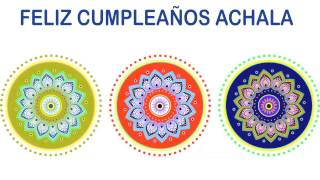 Achala   Indian Designs - Happy Birthday