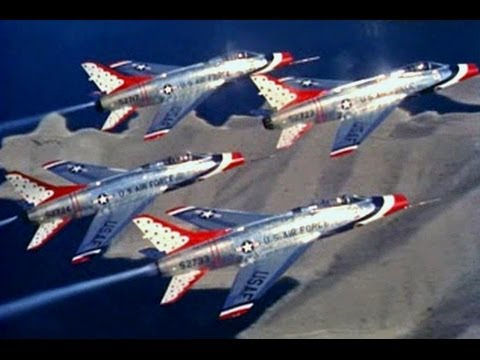 USAF Thunderbirds Promo Film Outtakes - 1958