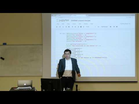 Computational Physics Lecture 2, Introduction to Python