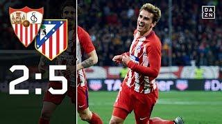 Griezmann mit Dreierpack bei Tor-Gala: FC Sevilla - Atletico Madrid 6:1 | Highlights | LaLiga | DAZN