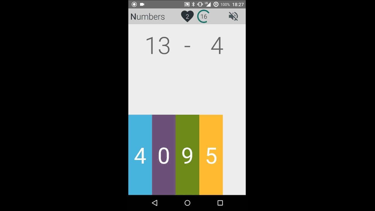 Numbers Simple Math Game 1 022 APK Download Android