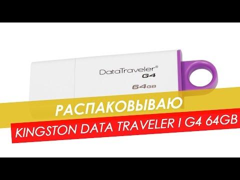 Раздобыл Kingston DataTraveler I G4 64GB
