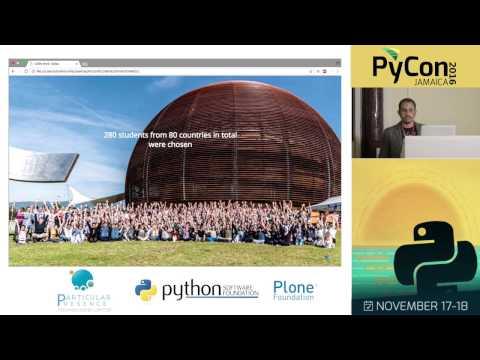 Jamaican Python at CERN (Dominic Mills)