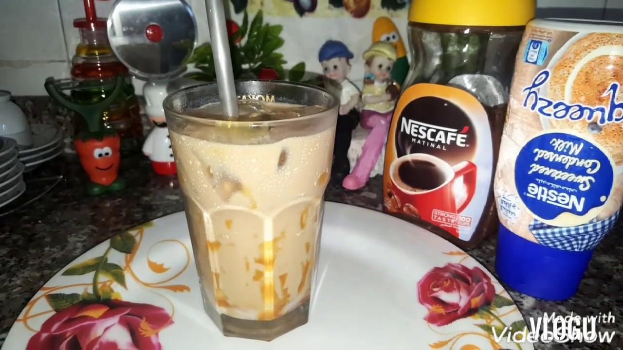 ايس شيكن وايت موكا ستاربكس قهوه مثلجه بطريقه رائعه Youtube