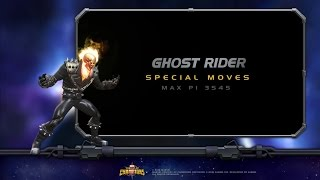 Ghost Rider Special Moves | Marvel Contest of...