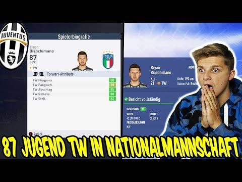 87 Jugend TW ist auf einmal in Italiens Nationalmannschaft - Fifa 19 Karrieremodus Juventus Turin 36 thumbnail