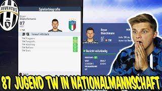 87 Jugend TW ist auf einmal in Italiens Nationalmannschaft - Fifa 19 Karrieremodus Juventus Turin 36