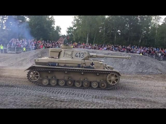 Panzer IV 4 G - Stahl auf der Heide 2017