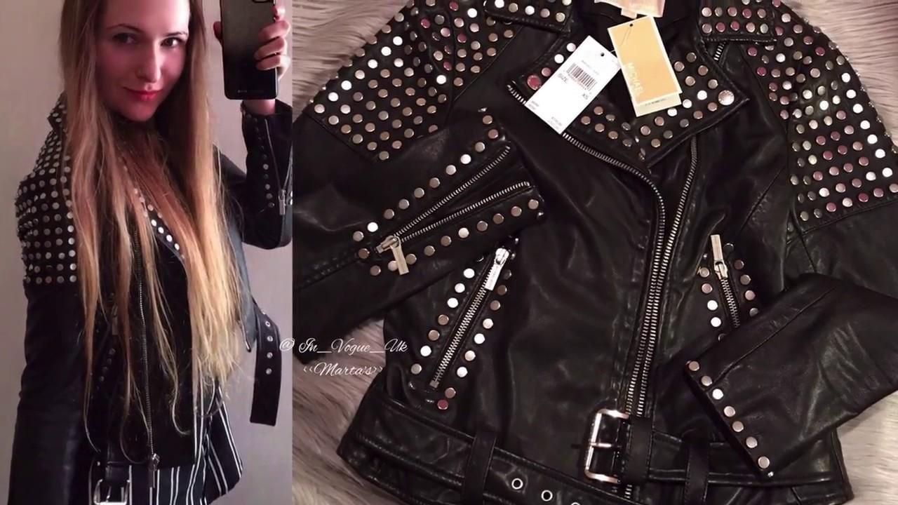 Melissa Gorga's Studded Leather Jacket - Big Blonde Hair