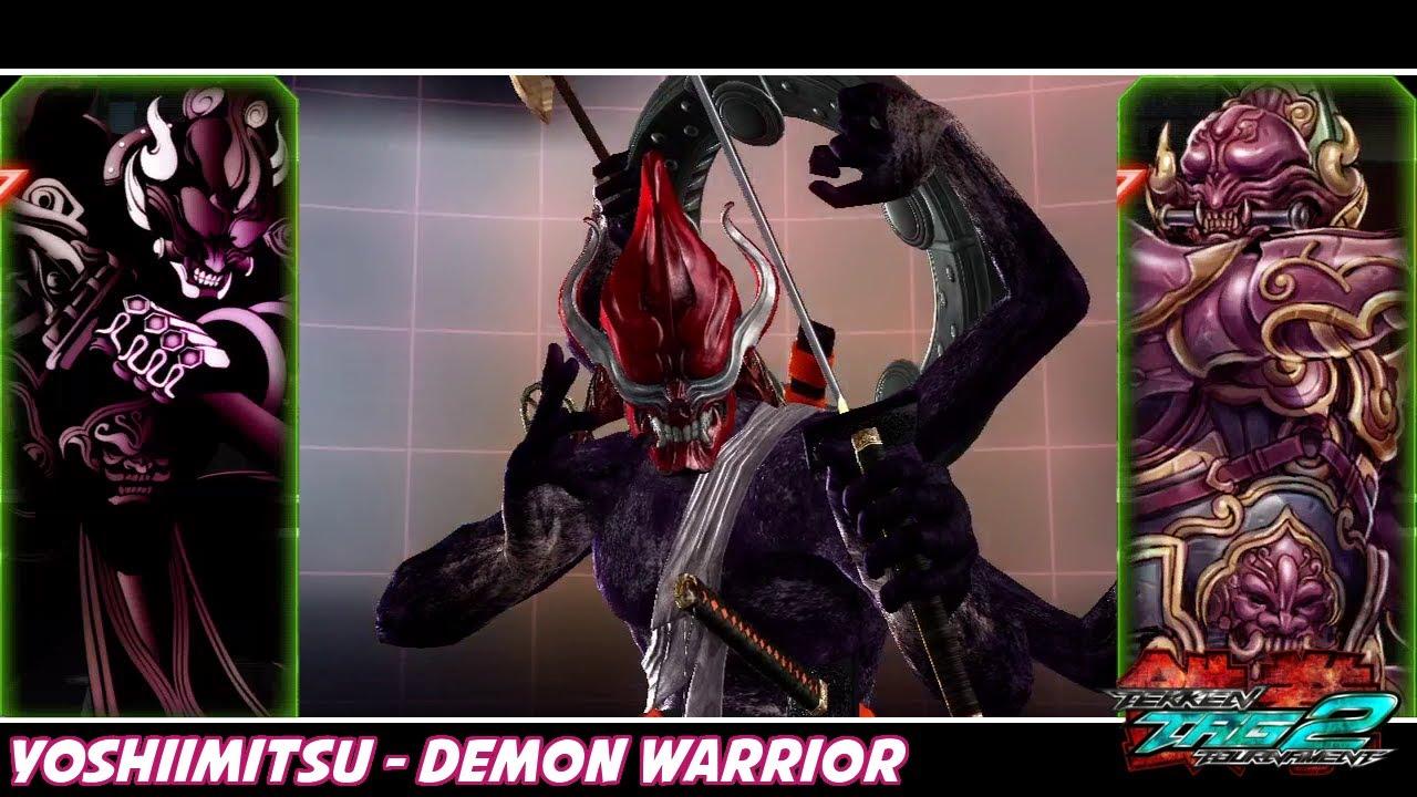 Tekken Tag Tournament 2 Yoshimitsu Demon Warrior Costume