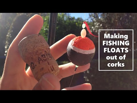 How To Make Wine Cork Fishing Floats At Home (No Power Tools)