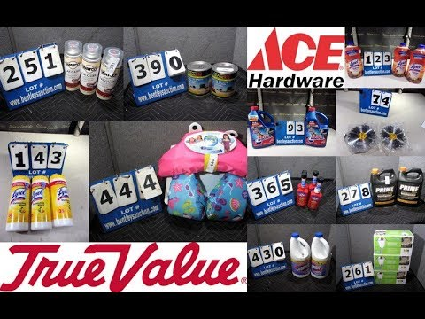 781 Brand NEW Surplus Hardware Store Inventory Online Auction