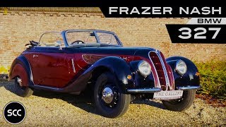 BMW Frazer NASH 327 Convertible RHD 1939 - Modest test drive - Engine sound | SCC TV