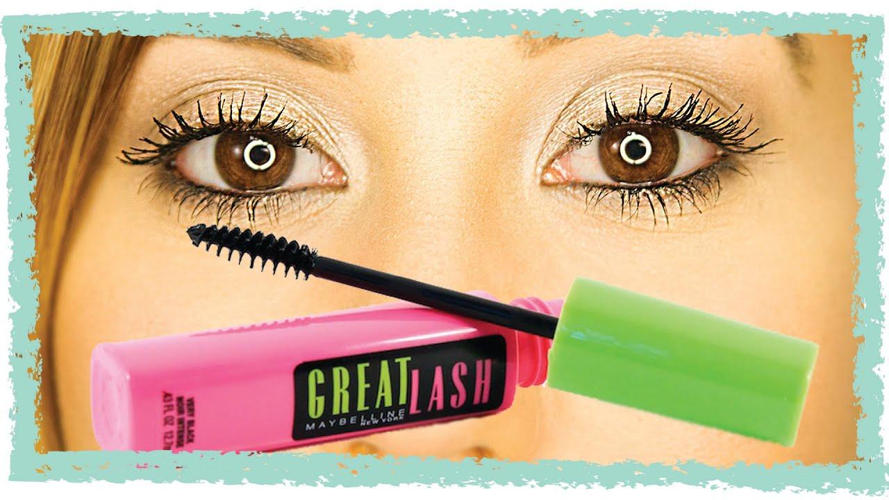 Maybelline Great Lash Mascara - Amazing or Overrated? - YouTube
