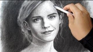 Emma Watson Speed Drawing