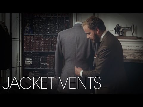 Jacket Vents - Tailoring Series - Part 3