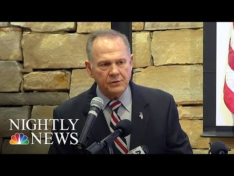 Roy Moore Denies Allegations Of Sexual Misconduct With Teen | NBC Nightly News