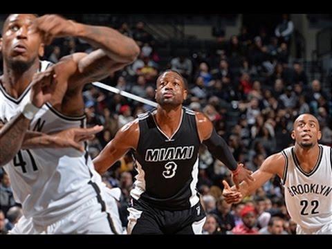 Miami Heat vs Brooklyn Nets - December 16, 2015