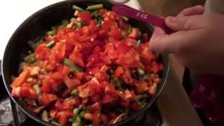 Whats For Dinner? Lemon-garlic Shrimp & Vegetables Dinner Recipe