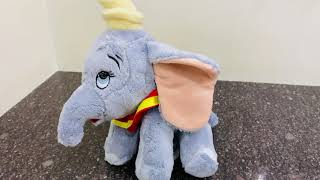 Disney dumbo plush 9 inch soft toy review Hamleys best soft toy