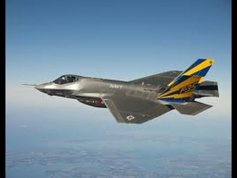 ADVANCED STEALTH us Air Force F-35 fighter air craft
